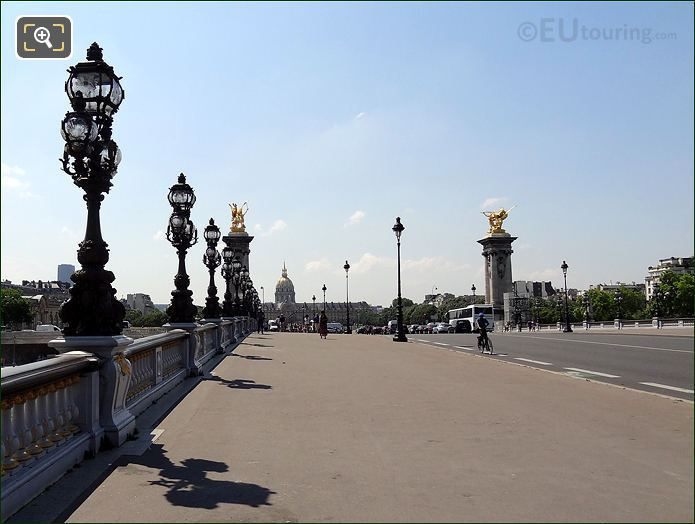 Photo Of The Pont Alexandre III Bridge In Paris