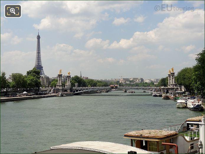 Photo Of The Pont Alexandre III Bridge In Paris