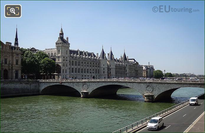 Pont Au Change Elliptical Arches