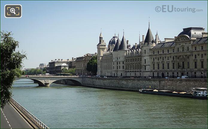 Pont Au Change And Quai De l Horloge