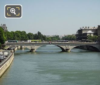 Pont Au Change Over The River Seine