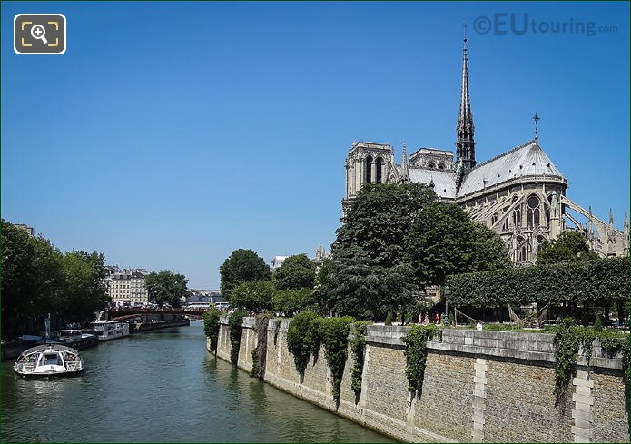Pont Au Double With Notre Dame