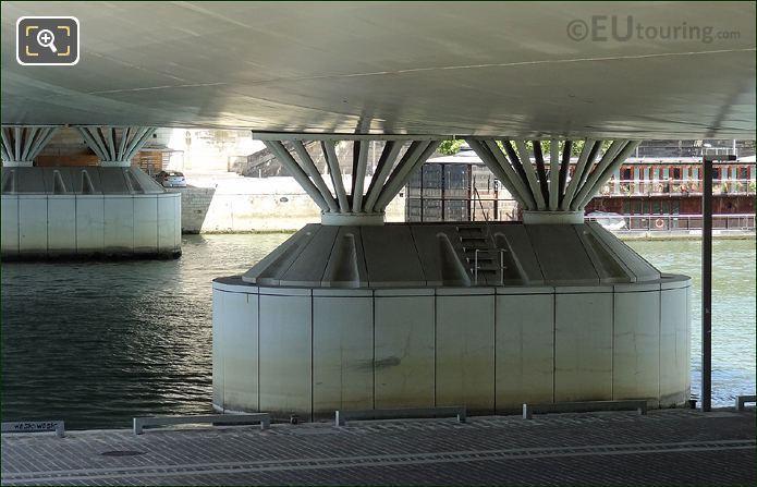 Pont Charles De Gaulle Steel Bars
