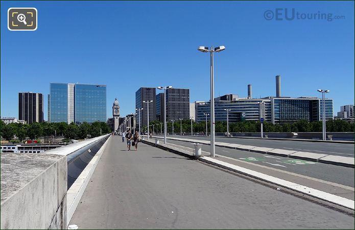 Pont Charles De Gaulle Pathway