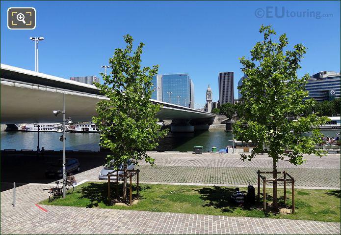 South Quai With Pont Charles De Gaulle