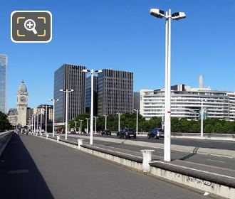 Pont Charles De Gaulle And Bercy Area