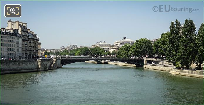 Pont d Arcole Over The River Seine