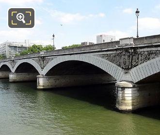 Pont d Austerlitz Stone Arches