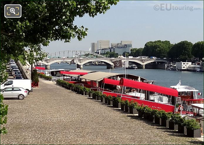Pont d Austerlitz And Yachts de Paris