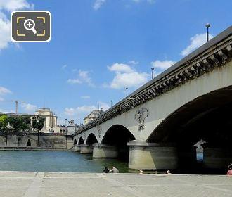 Pont d'Iena South Side From Port de Suffren