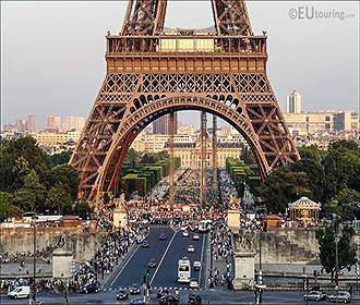 Pont d Iena Bridge In Paris
