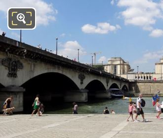 Pont d'Iena North Side