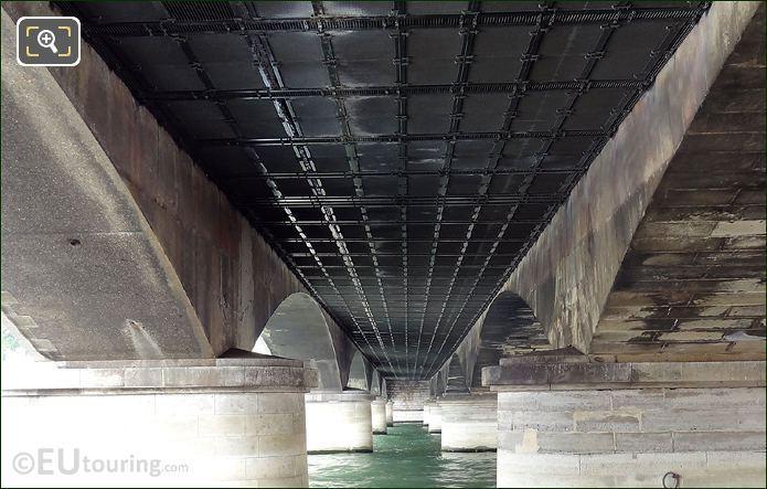 Pont d'Iena Underside Construction