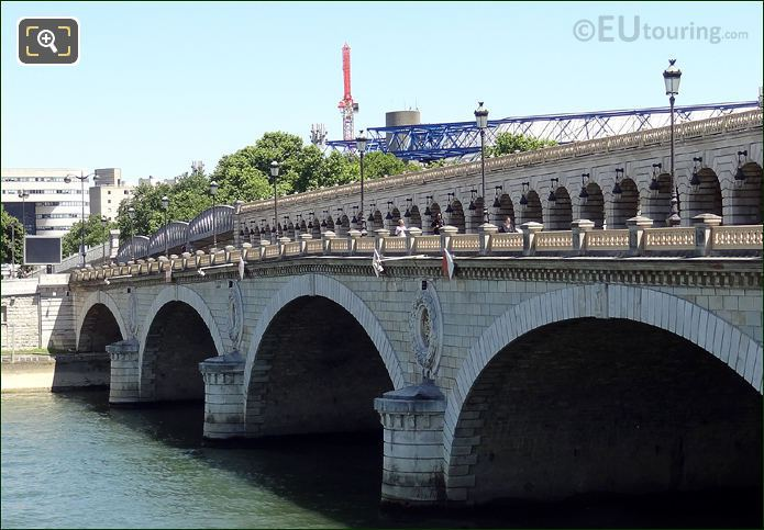 Pont De Bercy Stone Arches And Pillars