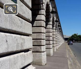 Pont De Bercy Viaduct Pillars