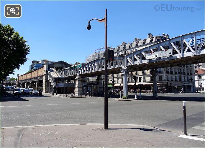 Quai De La Gare Metro Viaduct