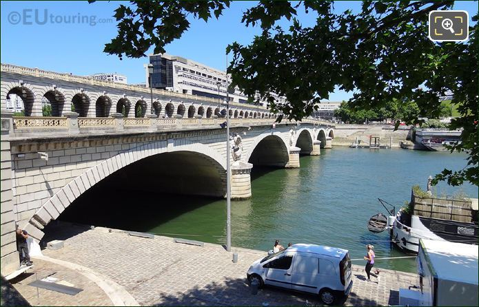 Pont De Bercy Over The River Seine