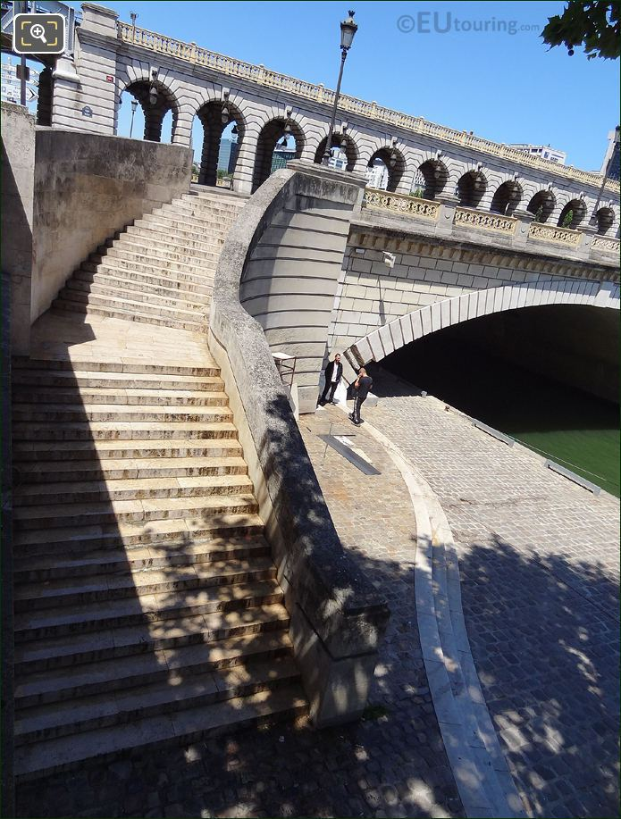 Pont De Bercy Stone Stairs