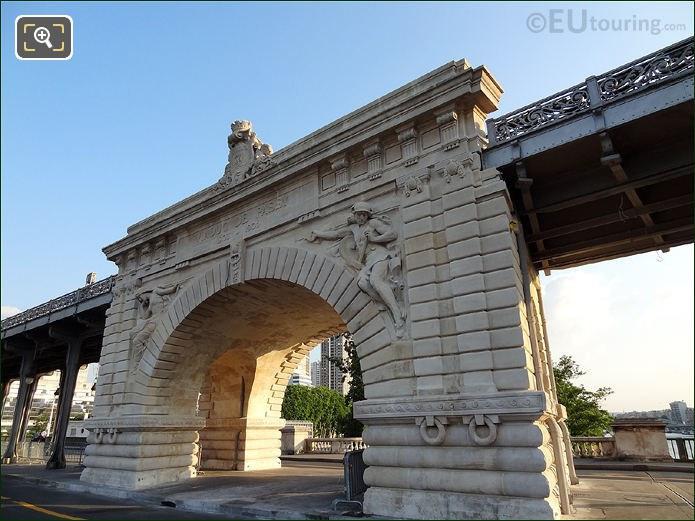 Pont de Bir-Hakeim Stone Arch