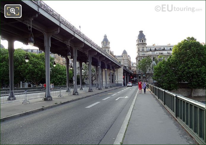 Pont de Bir-Hakeim Two Level