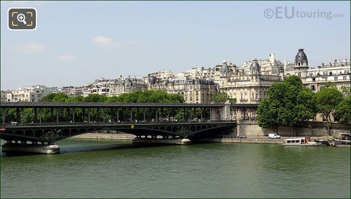 Pont de Bir-Hakeim Connecting To 16th Arrondissement