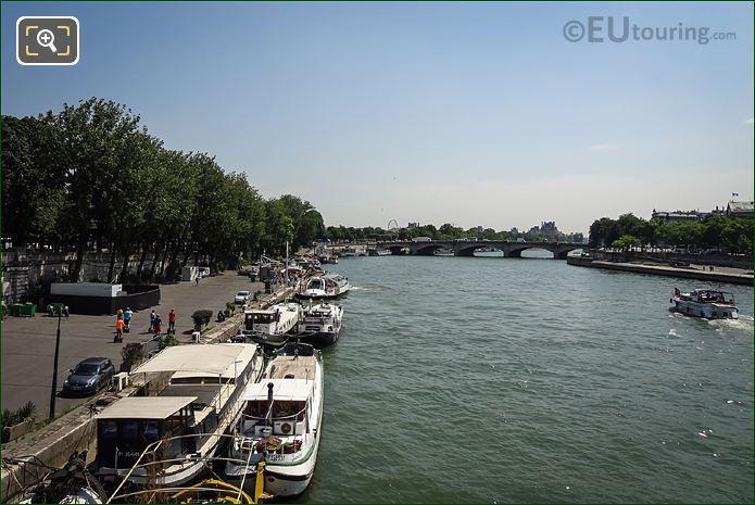 Port Des Champs Elyeese Pont De La Concorde
