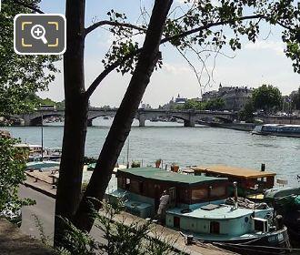 River Seine And Pont De La Concorde