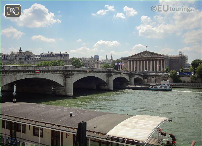Pont De La Concorde Stone Piers