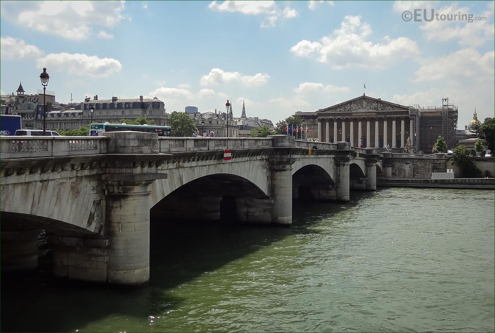 photographs of pont de la concorde over the river seine paris. Black Bedroom Furniture Sets. Home Design Ideas
