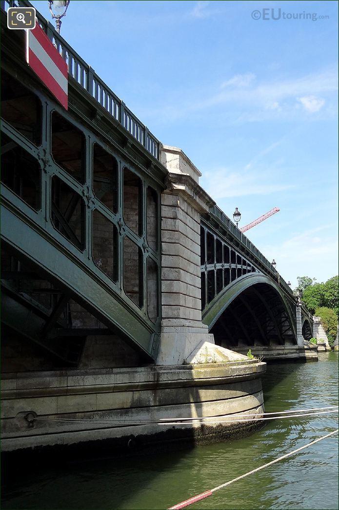 Pont De Sully Stone Pier