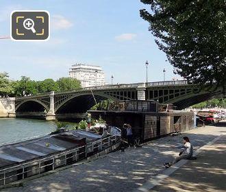 Pont De Sully Quai De La Tournelle