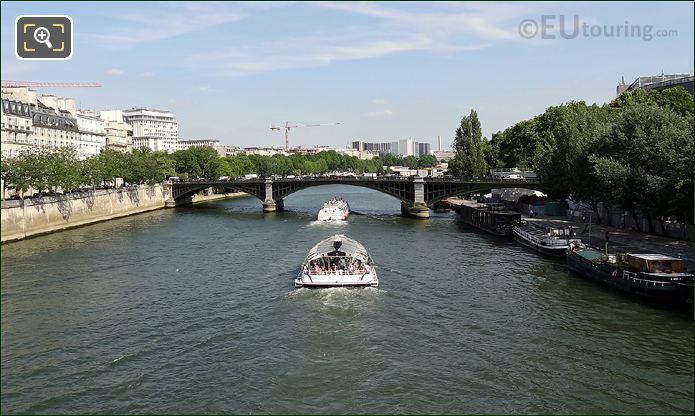 Pont De Sully And Batobus