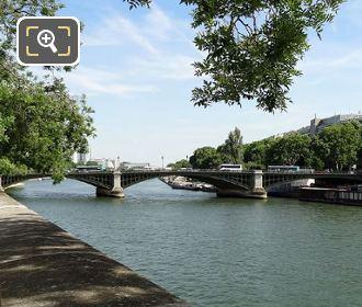 Quai De Bethune And Pont De Sully