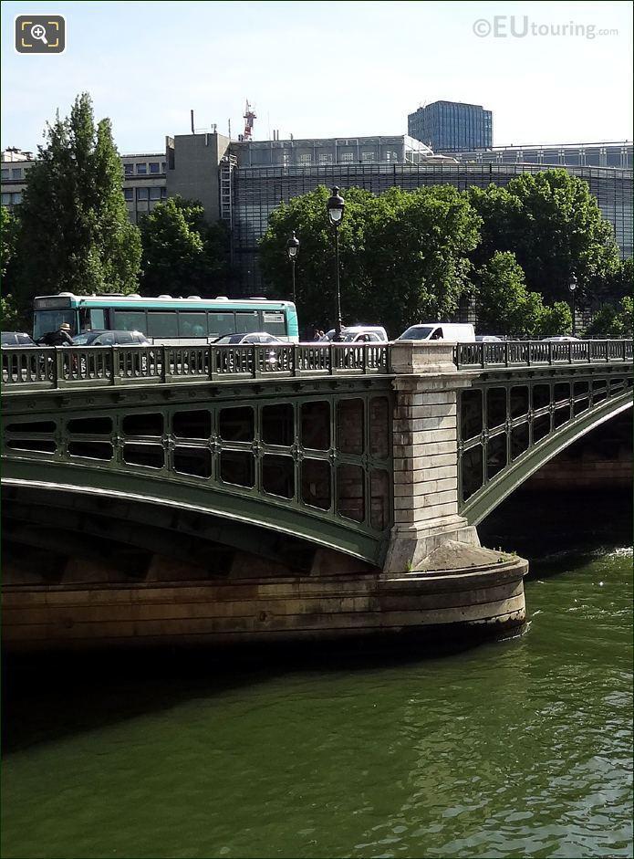 Pont De Sully Stone Pier West Side