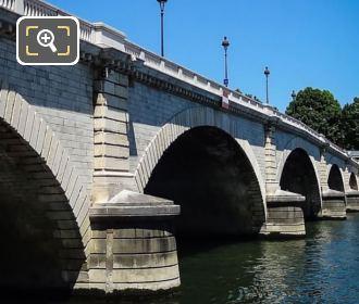 Pont De Tolbiac Stone Work
