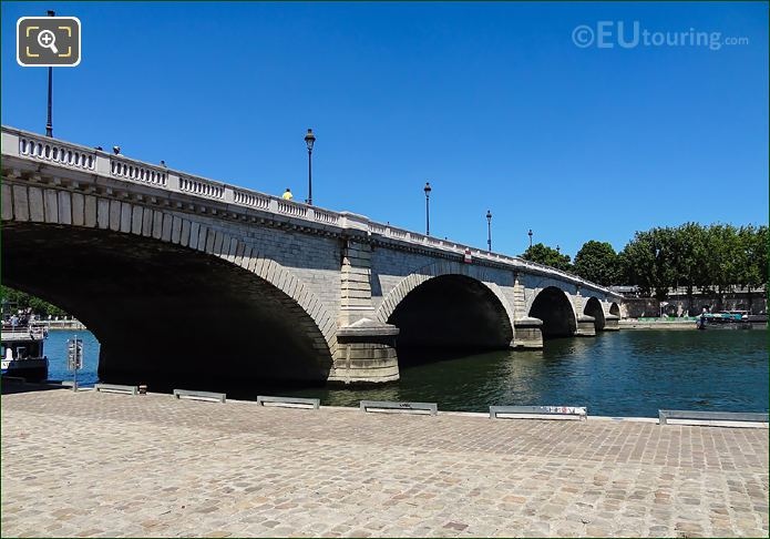 Pont De Tolbiac Stone Pillars