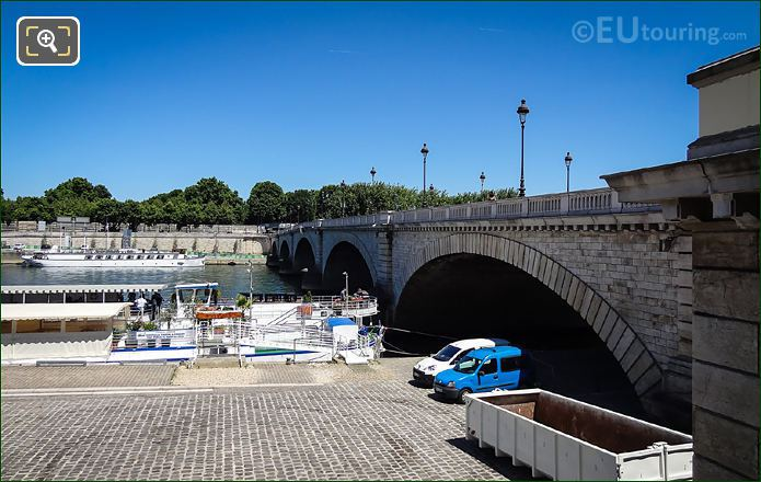 Pont De Tolbiac Low Arches