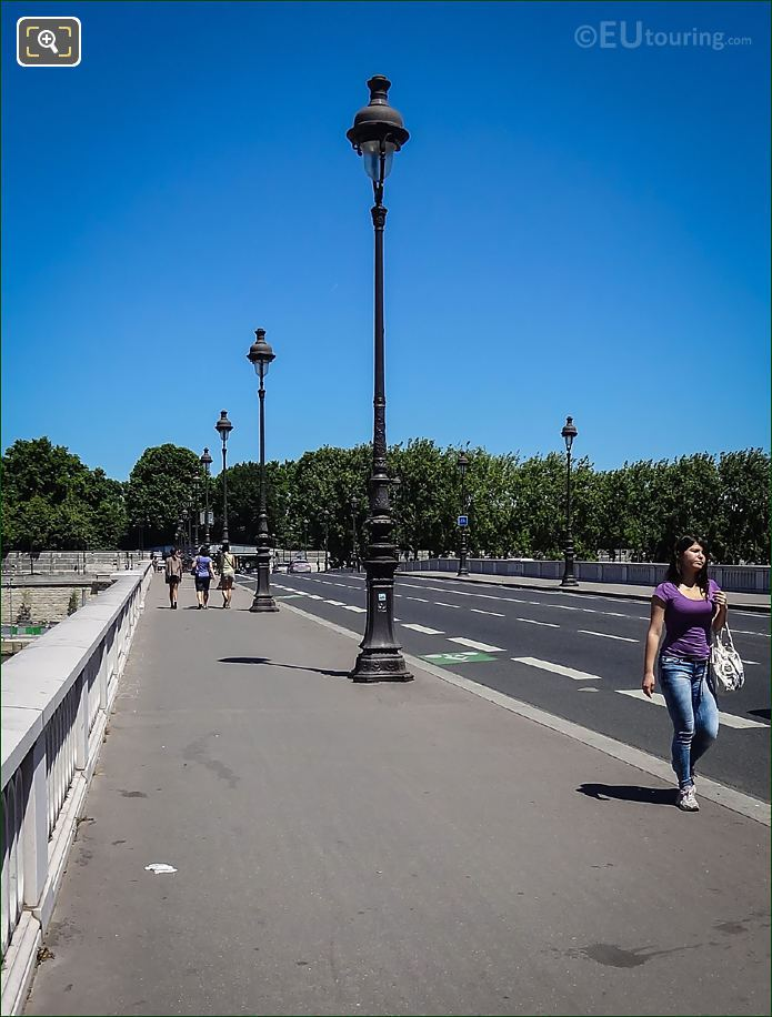 Pont De Tolbiac Street Lighting