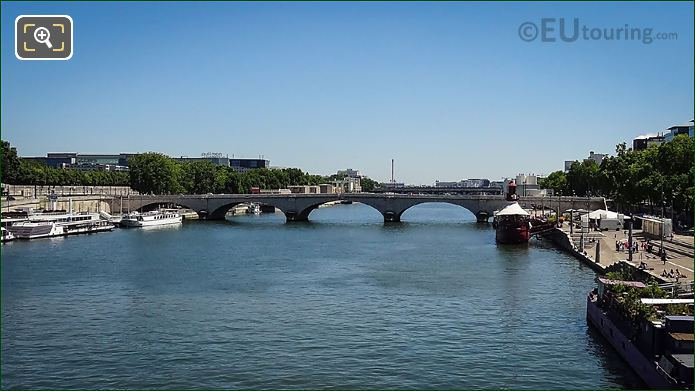 Pont De Tolbiac In Paris