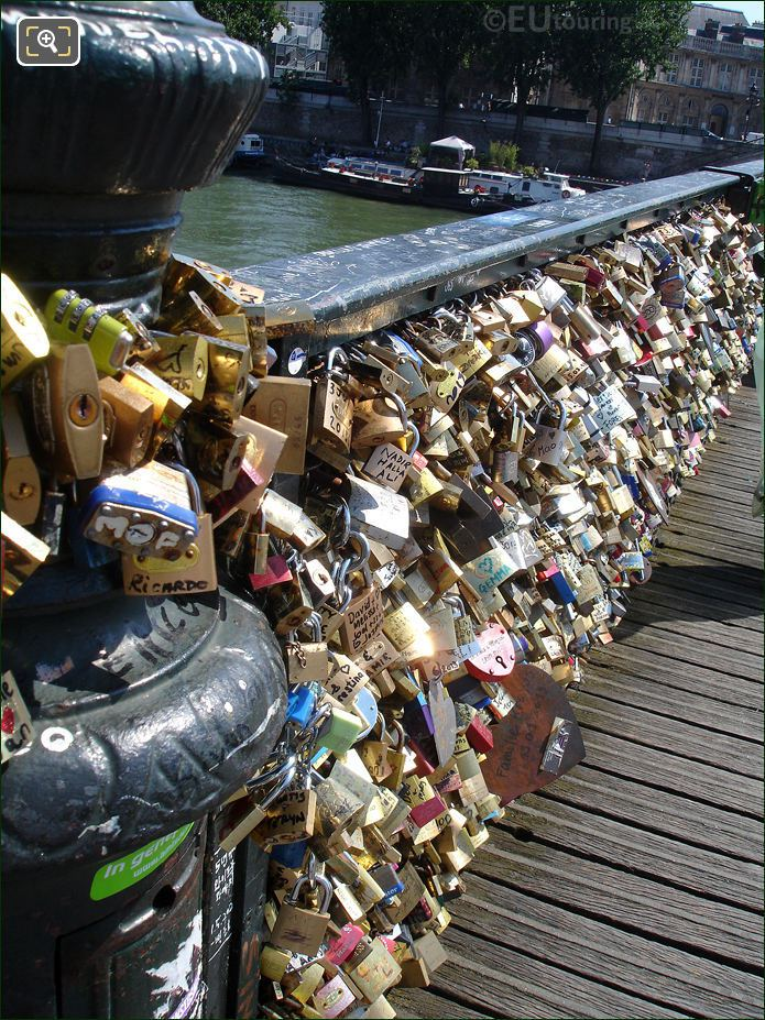 Photo Of The Pont Des Arts Bridge