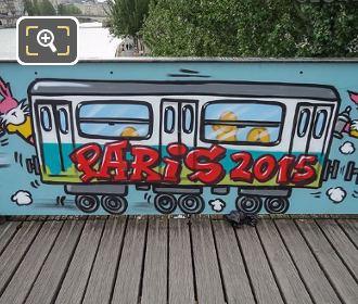 Paris Bridge Of Love 2015