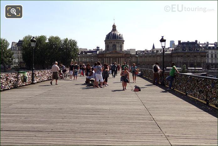 Photo Of The Pont Des Arts Bridge