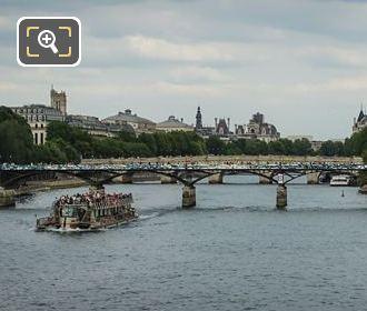 Pont Des Arts Western Side 2015