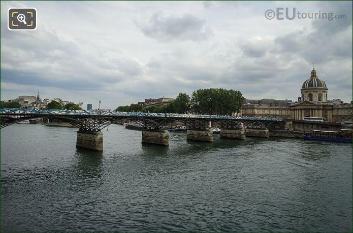 Pont Des Arts After Reopening In June 2015