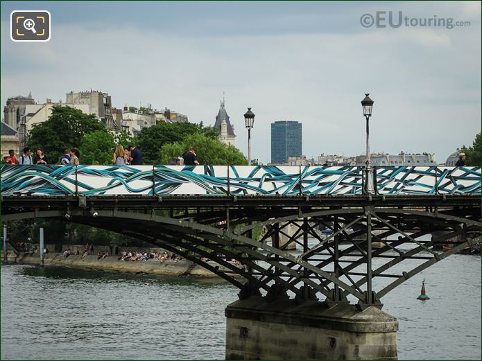 Paris Bridge Of Love Before And After Photos