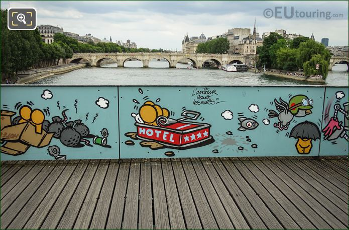 Paris Accommodation On Bridge Of Love