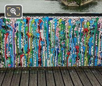 Pont Des Arts Graffiti Love Locks