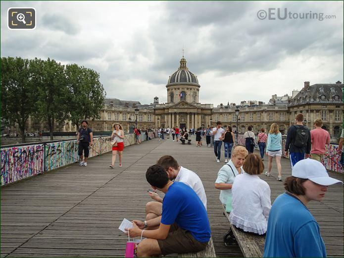Pont Des Arts Graffiti