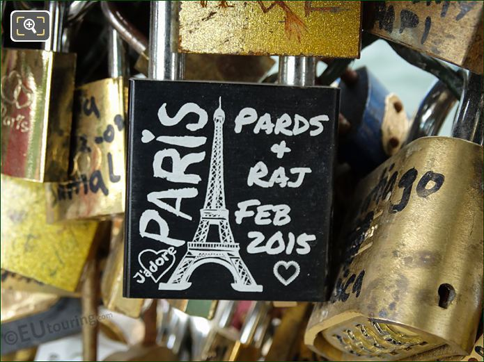 Pards + Raj Love Lock Pont Des Arts