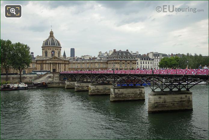 Bridge Of Love Pink And White Siding